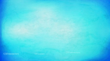 Bright Blue Watercolour Background Texture
