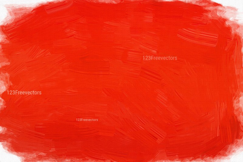 Bright Red Painting Background Image