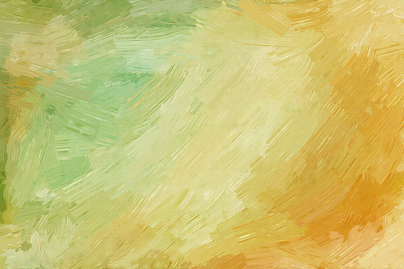 Brown and Green Paint Background
