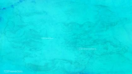 Cyan Grunge Watercolour Texture Background