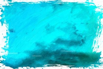 Cyan Paint Background