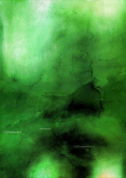 Green and Black Aquarelle Background Image