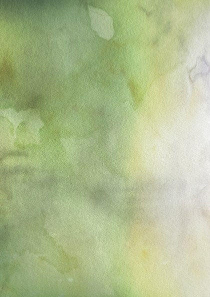 Green and Grey Watercolor Texture Background Image