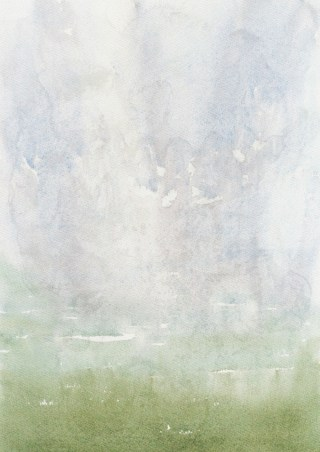Green and Grey Grunge Watercolor Background Image