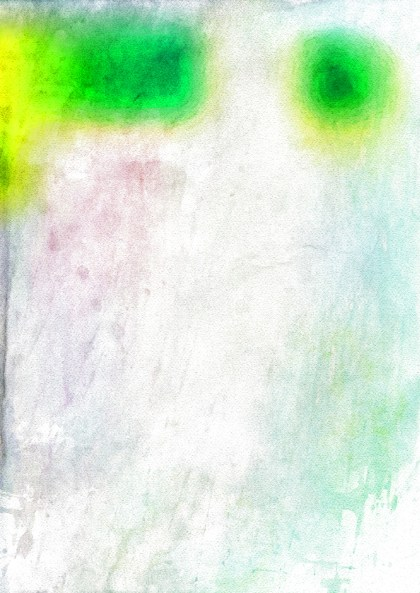 Green and White Grunge Watercolor Texture Image