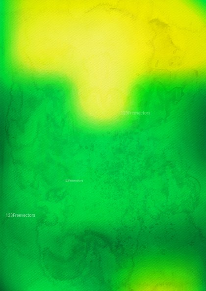 Green and Yellow Watercolor Background Graphic Image