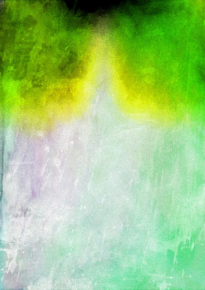 Green Yellow and White Watercolor Texture