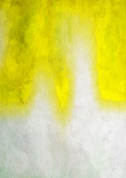 Grey and Yellow Watercolor Background