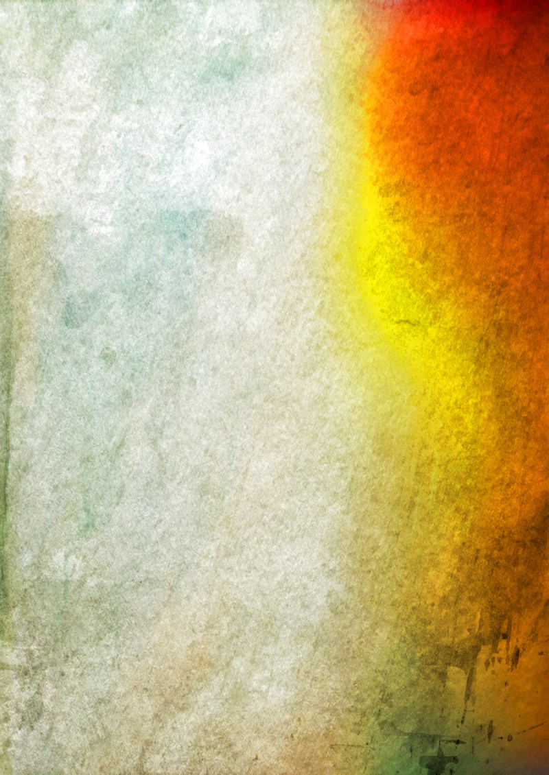 Grey Red and Yellow Watercolor Grunge Texture Background Image
