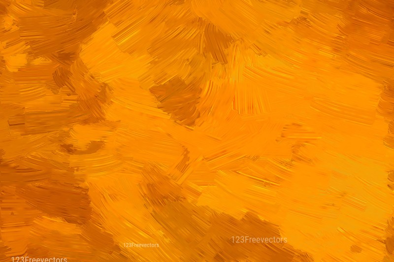Orange Painting Background