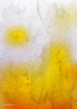Orange and White Watercolor Background Graphic Image
