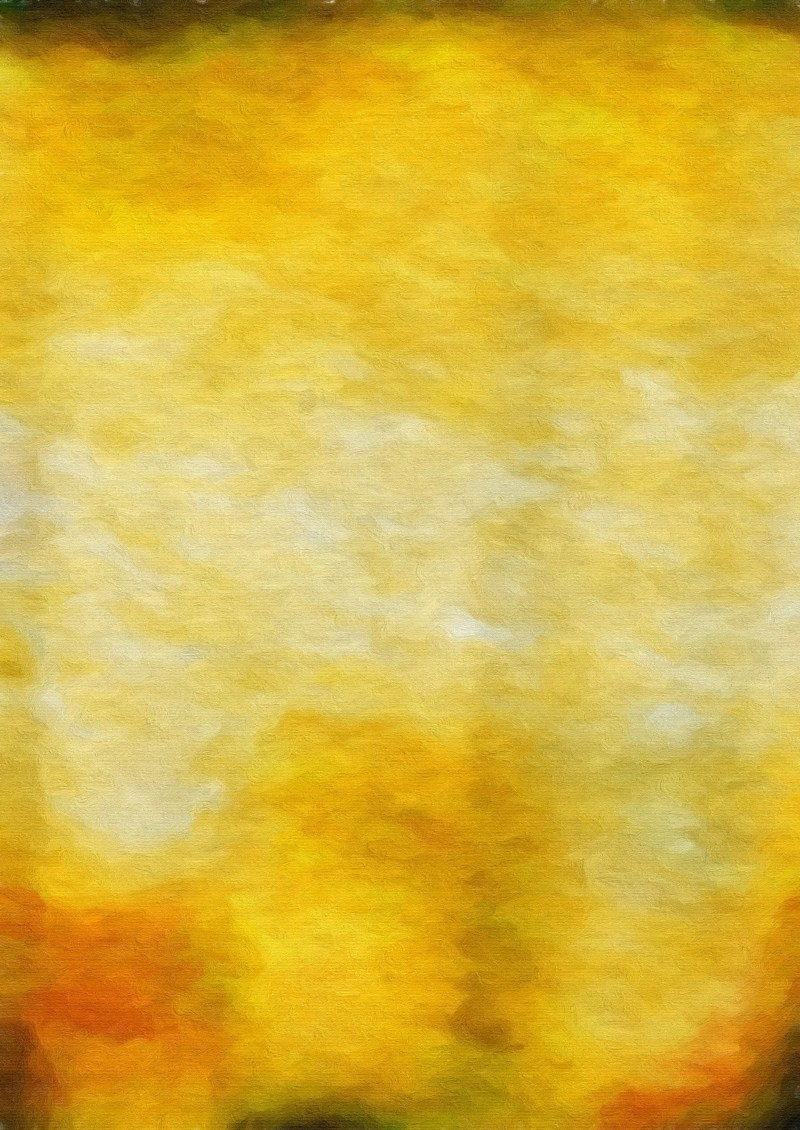 Orange and Yellow Water Color Background Image