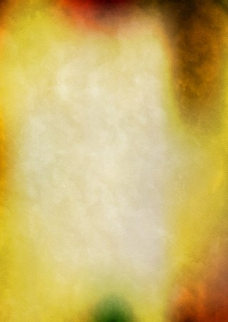 Orange and Yellow Watercolour Background Texture Image