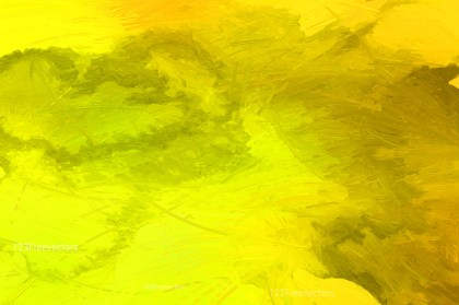 Orange Yellow and Green Paint Background Image