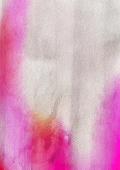 Pink and Grey Grunge Watercolour Background Image