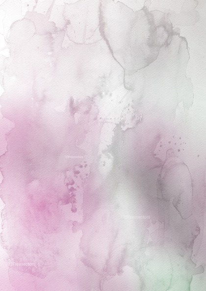 Pink and Grey Grunge Watercolour Texture Background