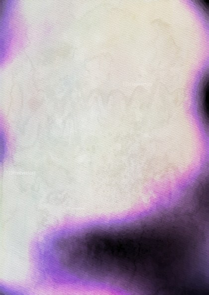 Purple and Beige Watercolor Background Image