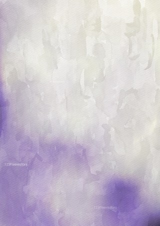 Purple and Beige Watercolor Grunge Texture Background Image