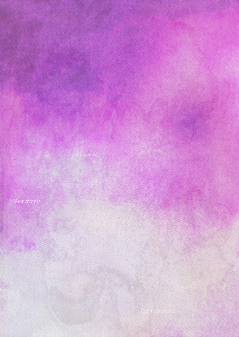 Purple and Grey Watercolor Background Design
