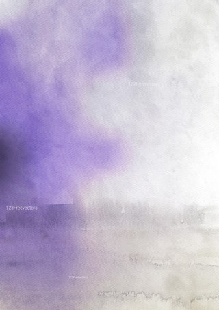 Purple and Grey Grunge Watercolour Background