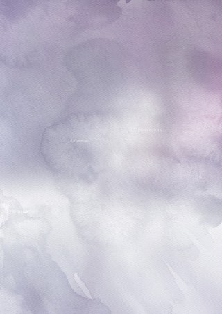 Purple and Grey Watercolour Grunge Texture Background
