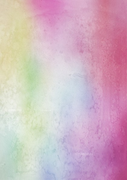 Purple Green and White Watercolor Background Texture