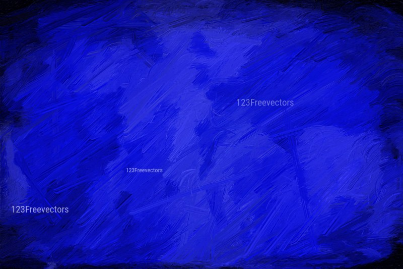 Royal Blue Painting Background