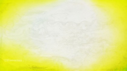 Yellow and White Distressed Watercolour Background Image