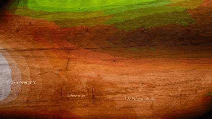 Brown and Green Wooden Background Image