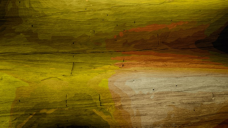 Green Brown and Black Wood Grain Background Image
