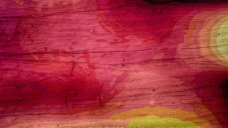 Pink Red and Yellow Wood Background Image