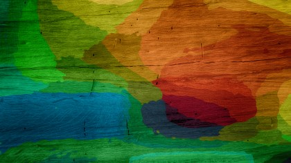 Red Green and Blue Wood Background Image