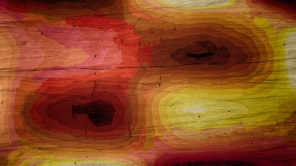 Red Yellow and Brown Wood Background