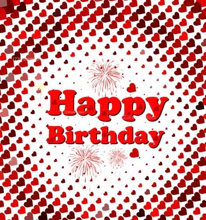 Birthday Card Background Illustrator