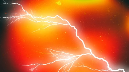 Black Red and Yellow Lightning Background Graphic