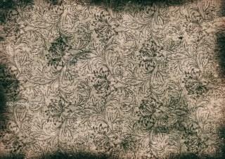 Dark Brown Grunge Floral Texture Image