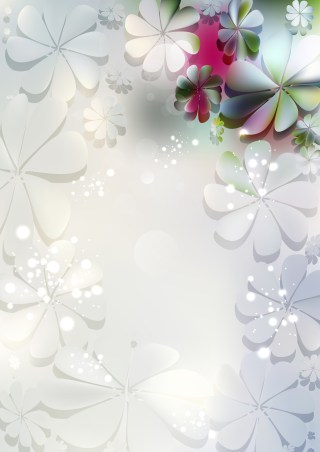 Light Color Flower Background