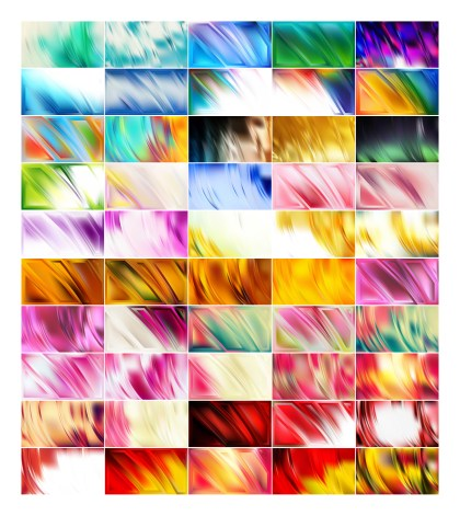 50 Abstract Background Designs Vector Pack