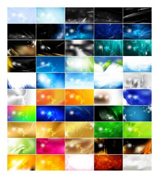 50 Abstract Background Vector Pack