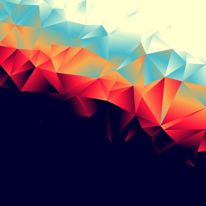 Abstract Black Red and Blue Background Vector