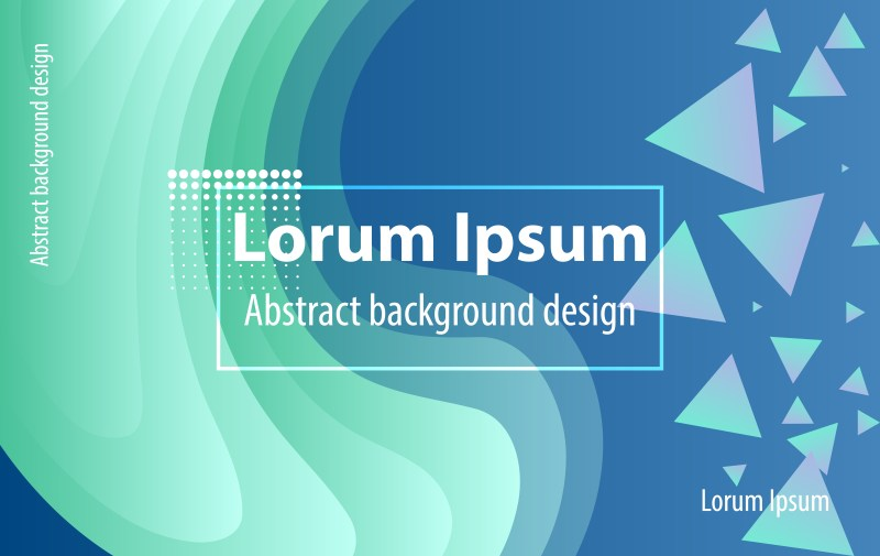 Abstract Fluid Blue Color Gradient Style Background
