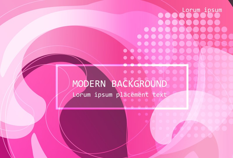 Abstract Pink Fluid Color Background