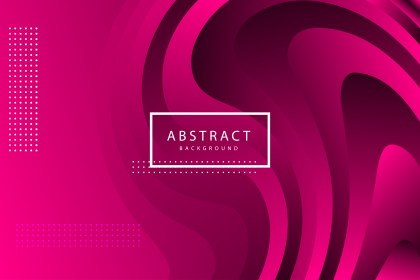 Abstract Pink Fluid Color Gradient Shape Background