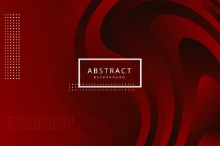 Abstract Red and Black Gradient Liquid Shapes Background