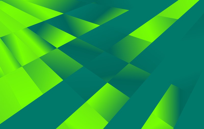 Green Fluid Color Abstract Geometric Background