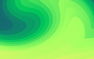 Abstract Green Fluid Color Gradient Geometric Shapes Composition Background