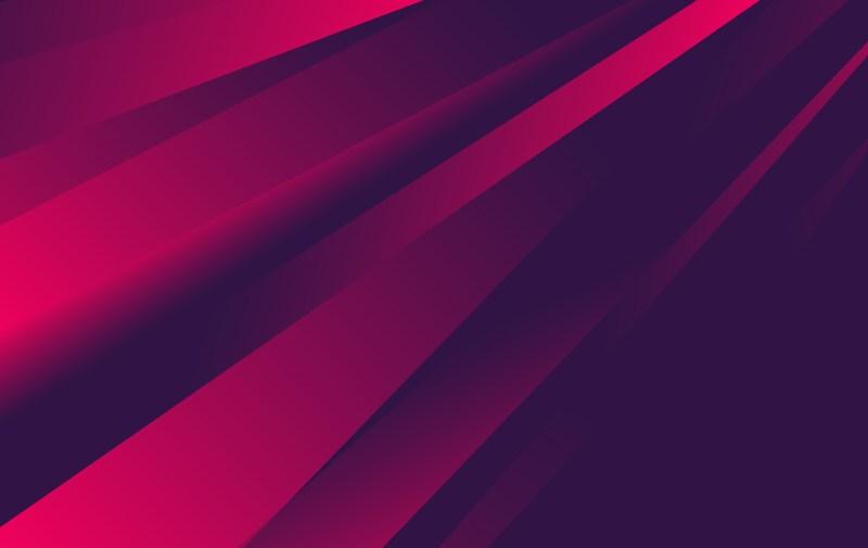 Dark Pink Fluid Gradient Geometric Abstract Background