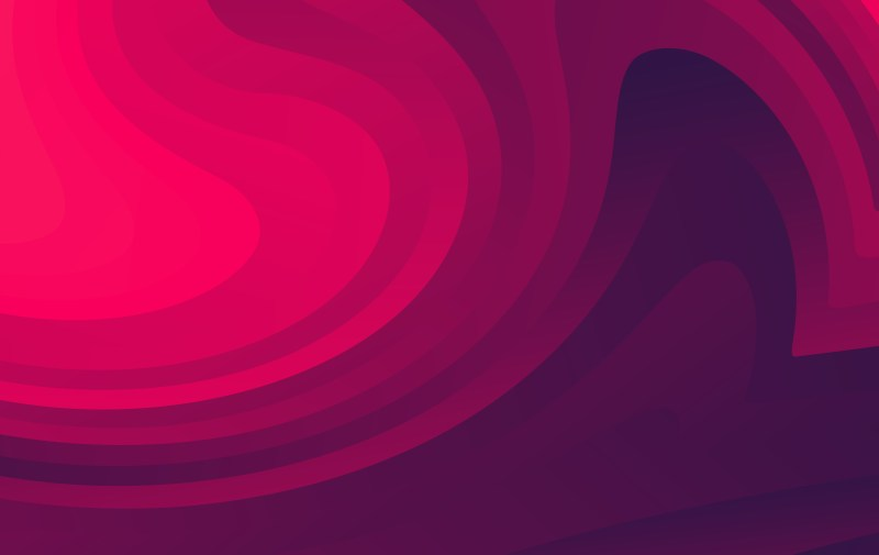 Abstract Dark Pink Fluid Gradient Geometric Background