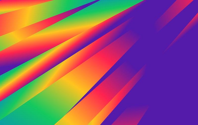 Colorful Fluid Liquid Color Abstract Geometric Background