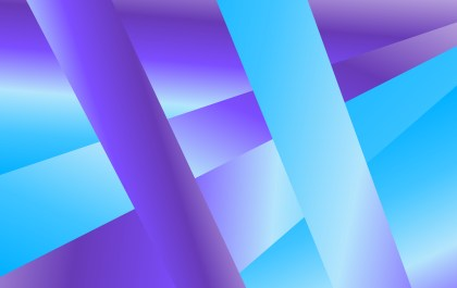 Abstract Blue and Purple Fluid Gradient Geometric Background
